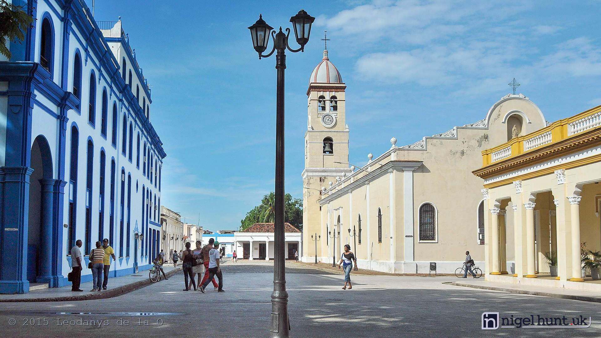 Colonial Archituecture of Bayamo's church, Cuba