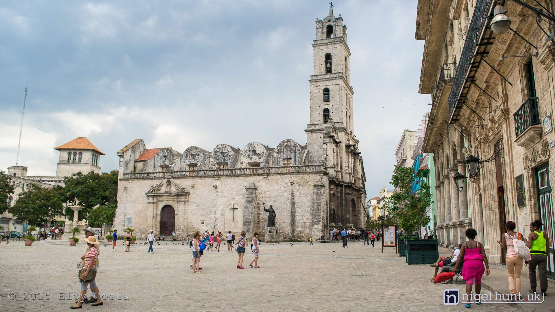 San Francisco de Asís Square at Old Havana