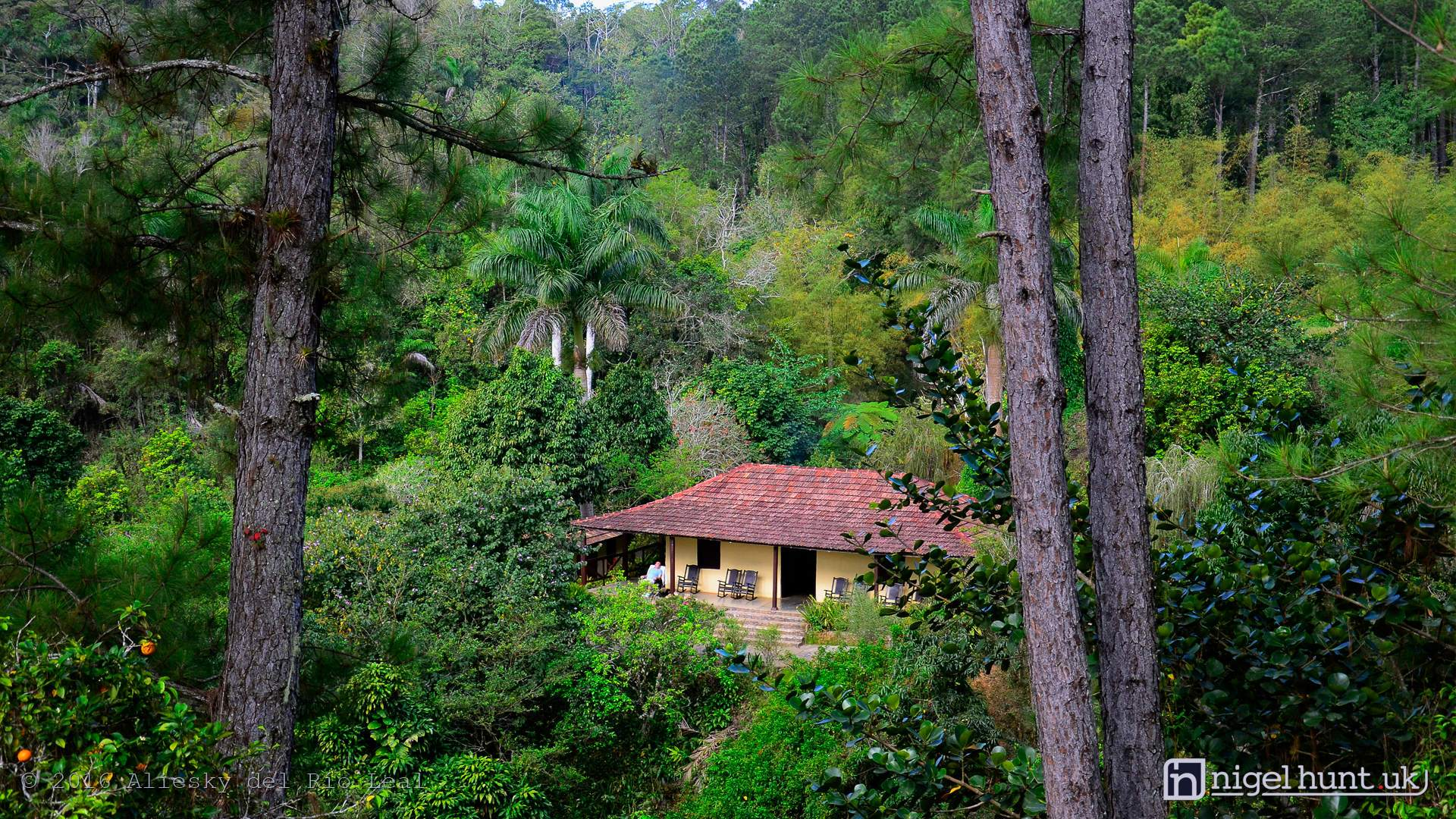 Codina Ranch at Topes de Collantes in Sancti Spiritus, Cuba