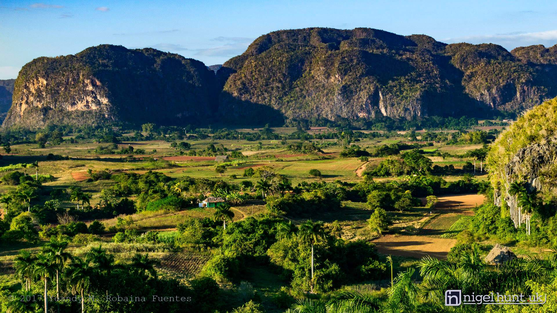 The Valley of Vinales with its mogotes